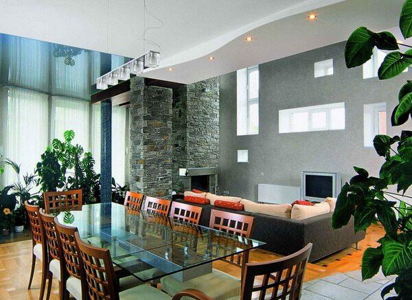 Дизайн отделки столовой